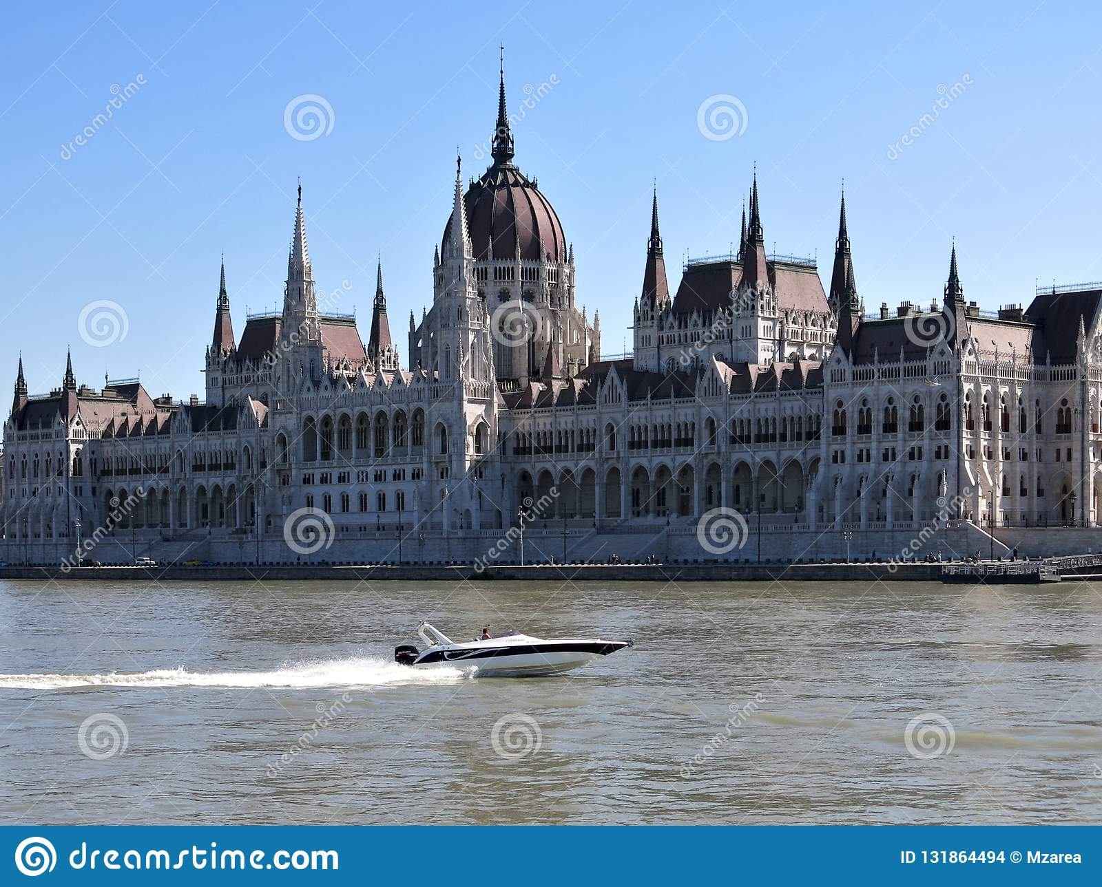 separation shoes f942c 7c8d4 Flying away in Budapest stock photo. Image of parliament ...