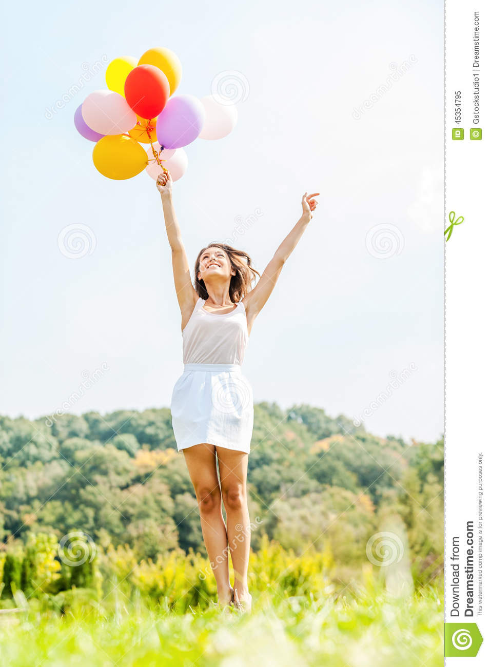 Flying Away. Stock Photo - Image: 45354795