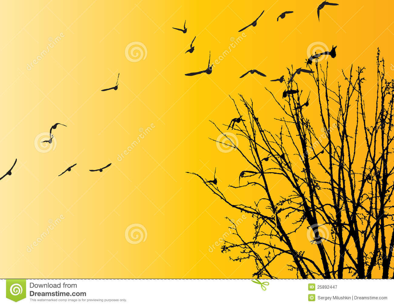 Royalty Free Stock Photography Flying Birds Background Image25892447