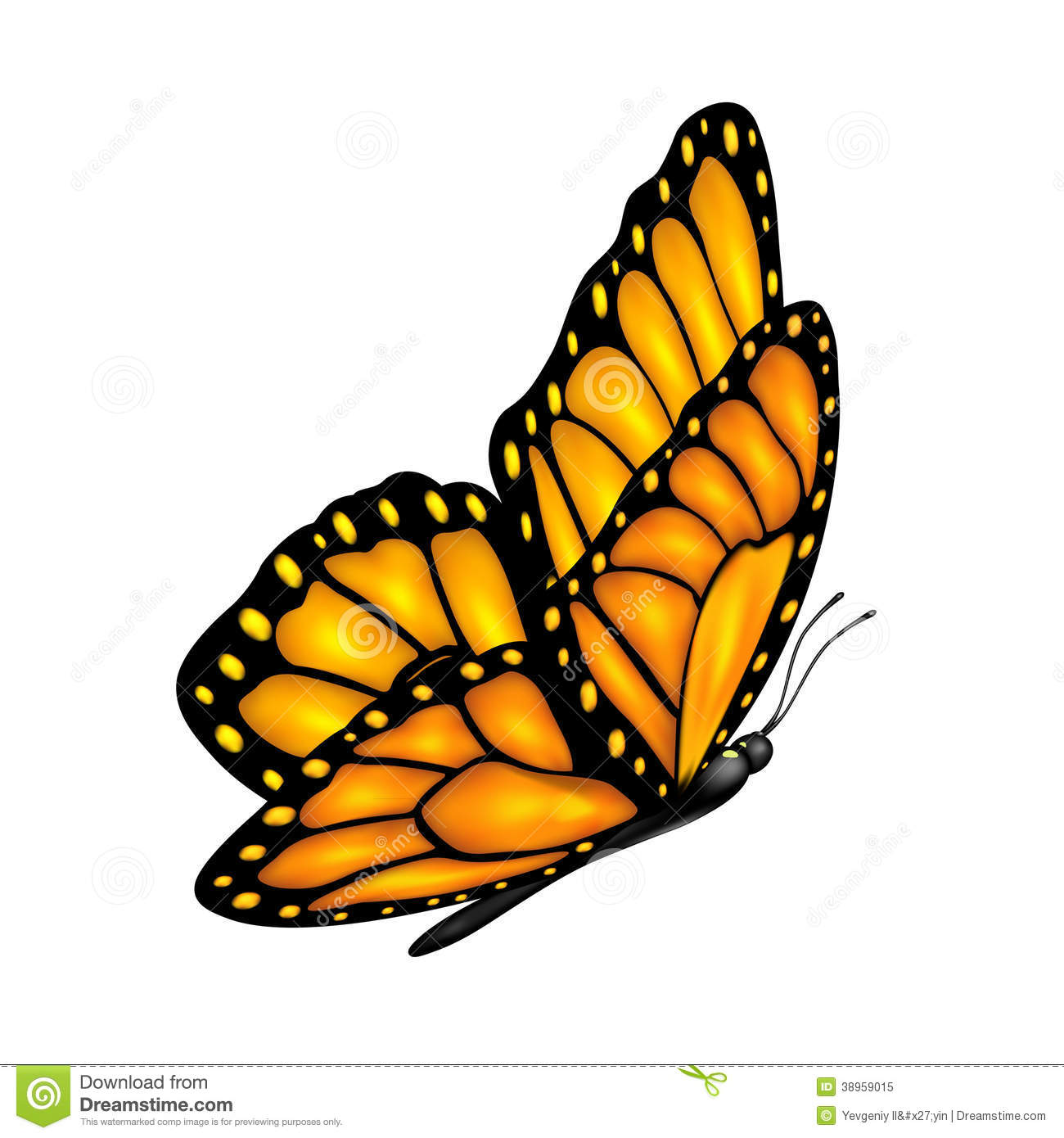 flying butterfly stock vector image 38959015 springtime clip art free images springtime clip art free images