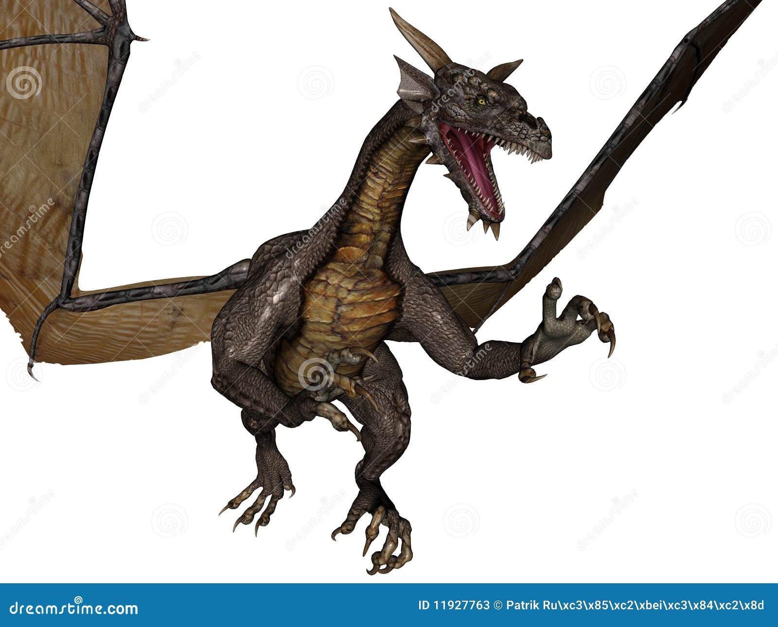 flying dragon stock photos image 11927763