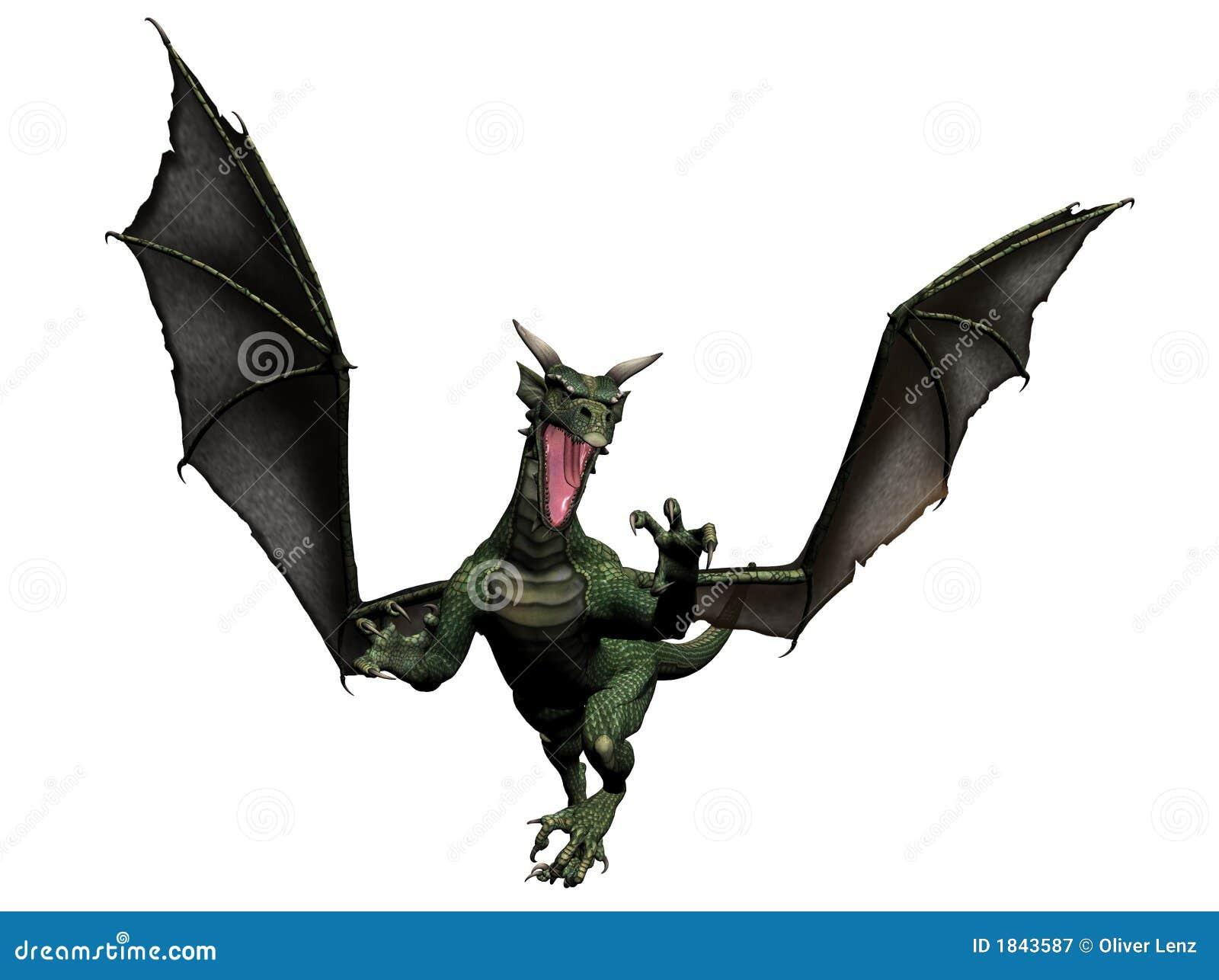 Flying Dragon: Flying Dragon Royalty Free Stock Photography