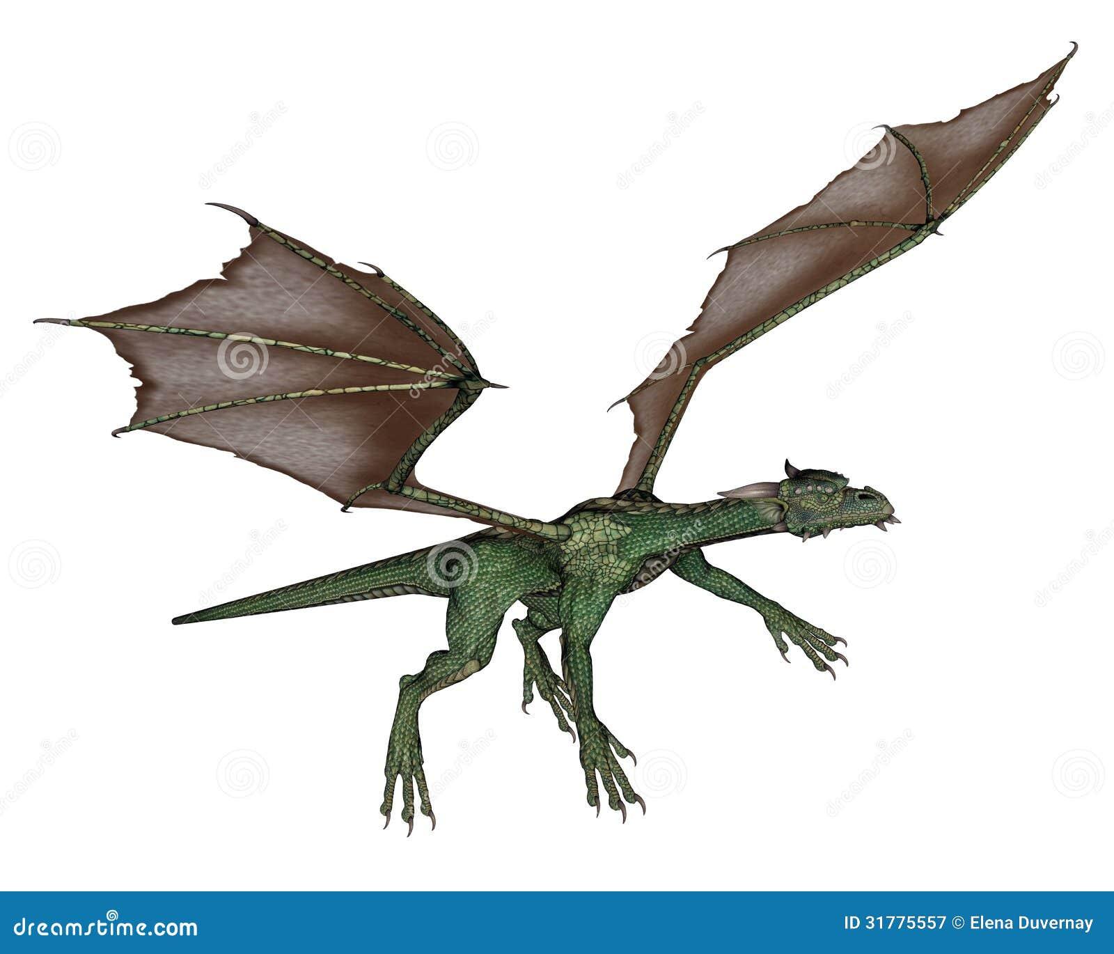 flying dragon stock illustration image of beast head