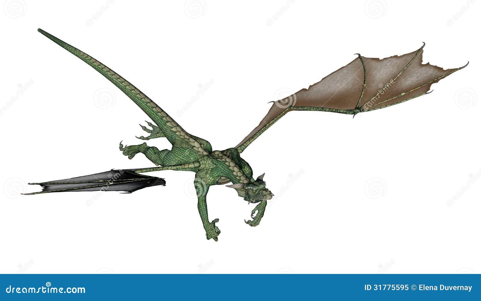 flying dragon royalty free stock photo image 31775595