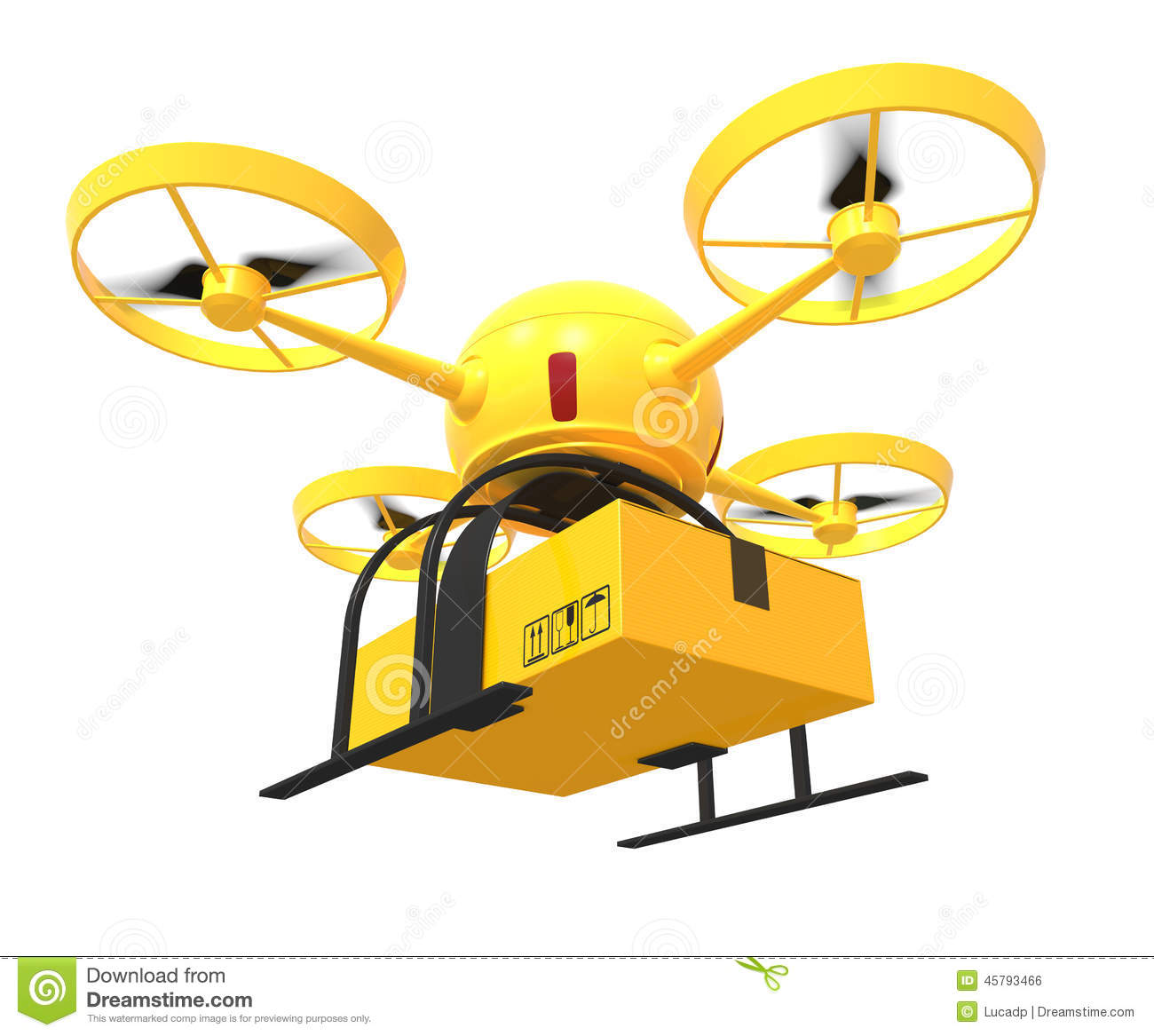 Flying Drone Stock Illustration Of Remote