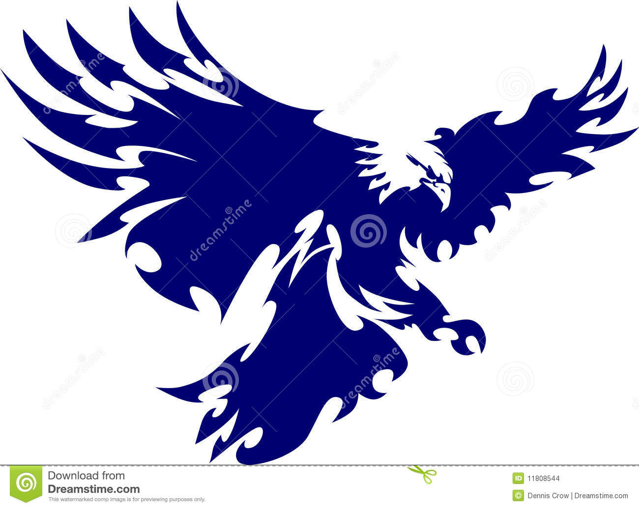flying eagle logo stock vector illustration of images 11808544 rh dreamstime com