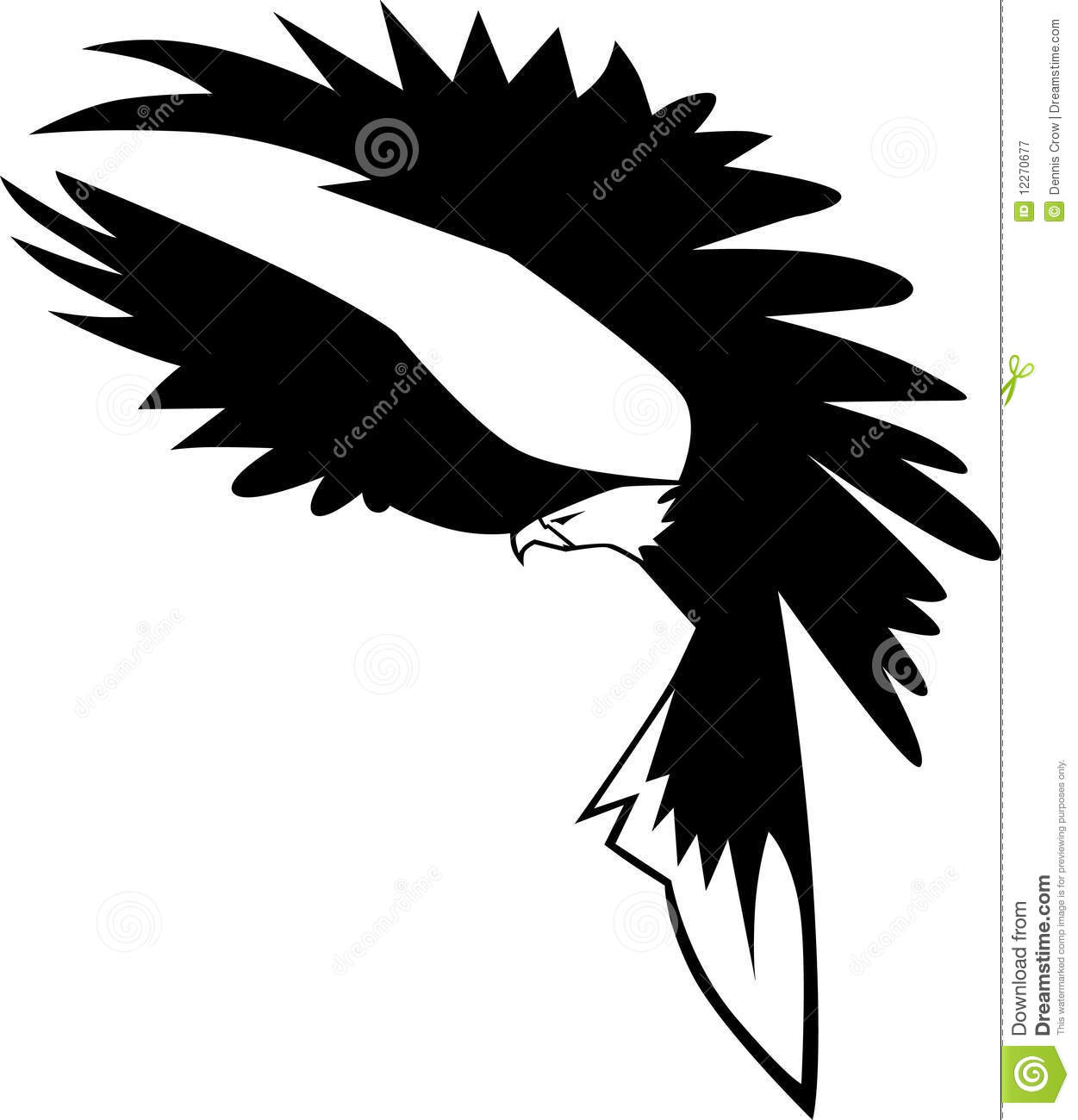 flying eagle logo stock vector  image of vector  images