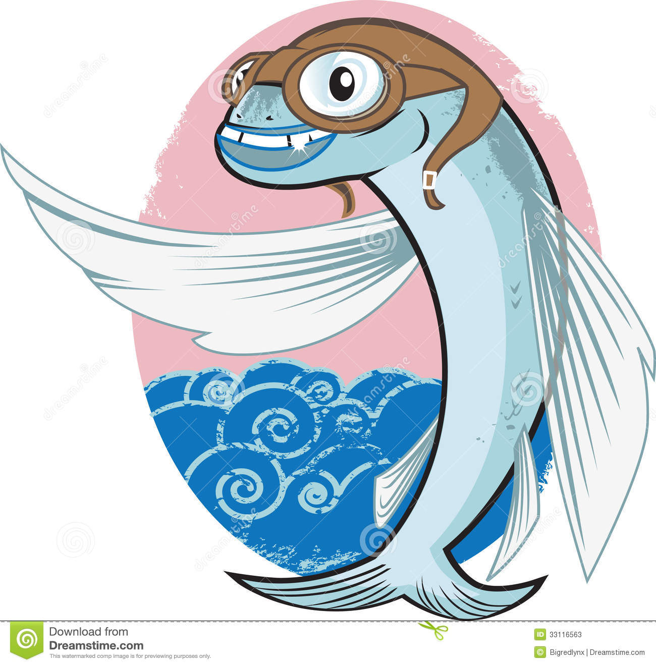 flying fish cartoon - photo #23