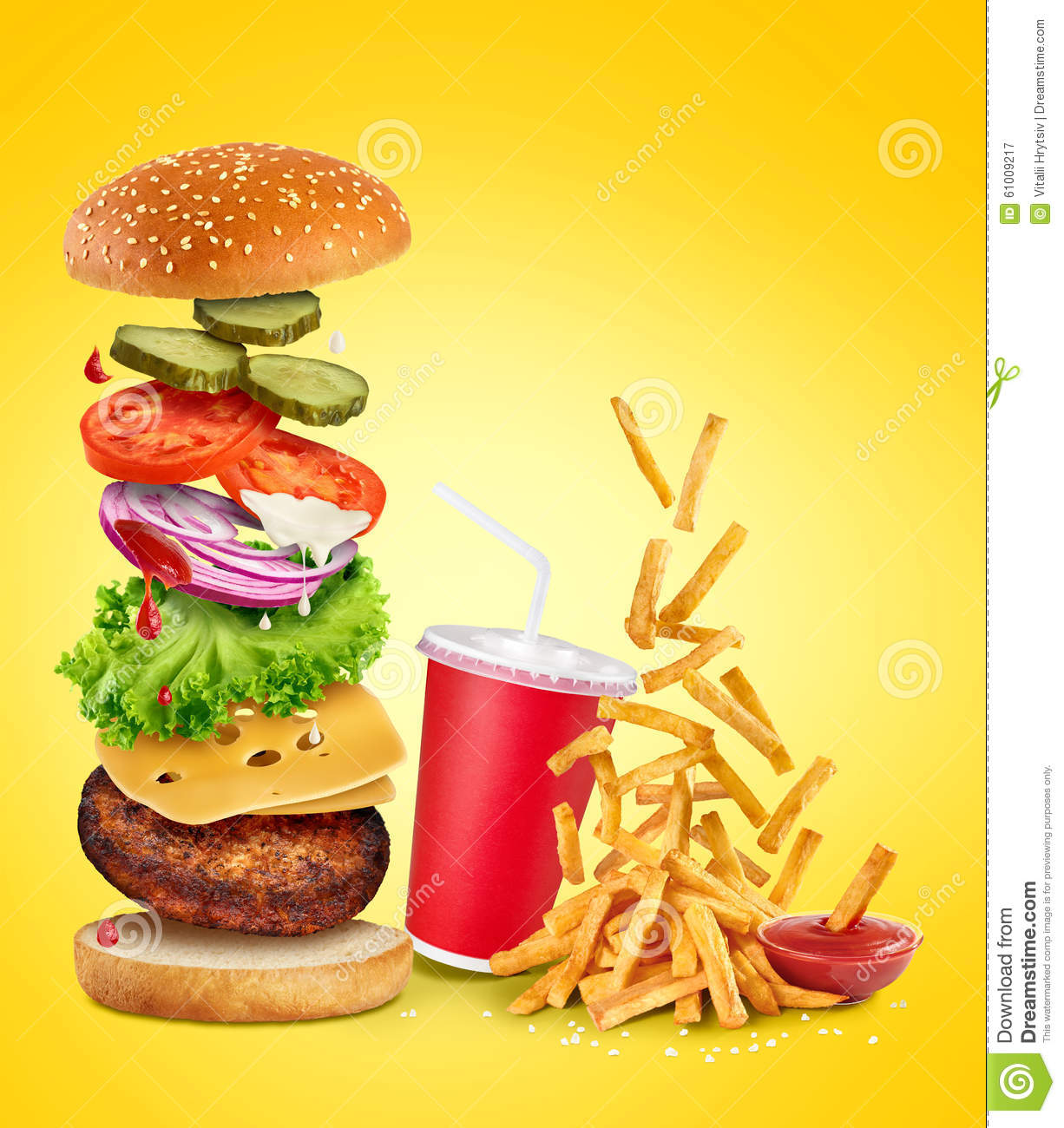 Fast food images high resolution