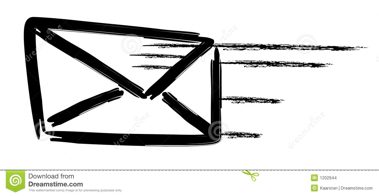 fastest way to mail a letter flying mail stock illustration illustration of 8590