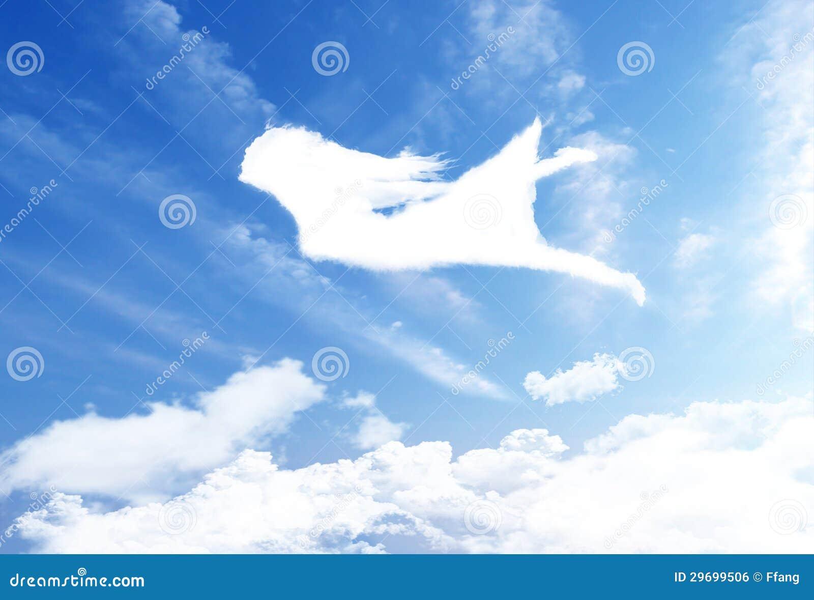 Flying over clouds sky 29699506 jpg