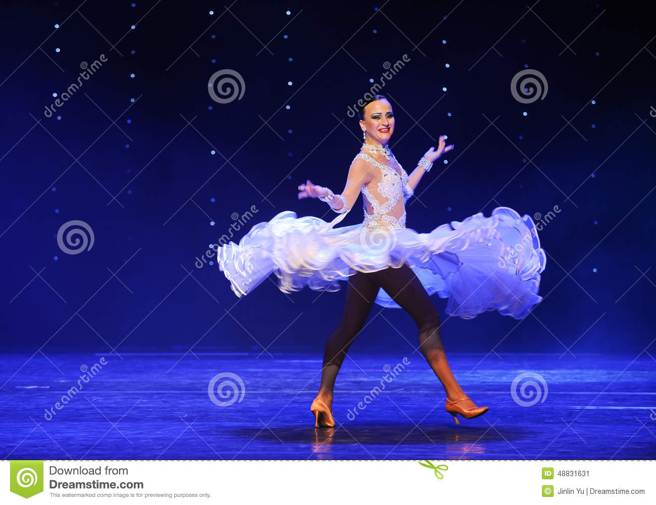 Flying Skirt Quickstep Austria S World Dance Late January Brought Staged Jiangxi Province Arts Center Theatre on Foxtrot Dance Drawing