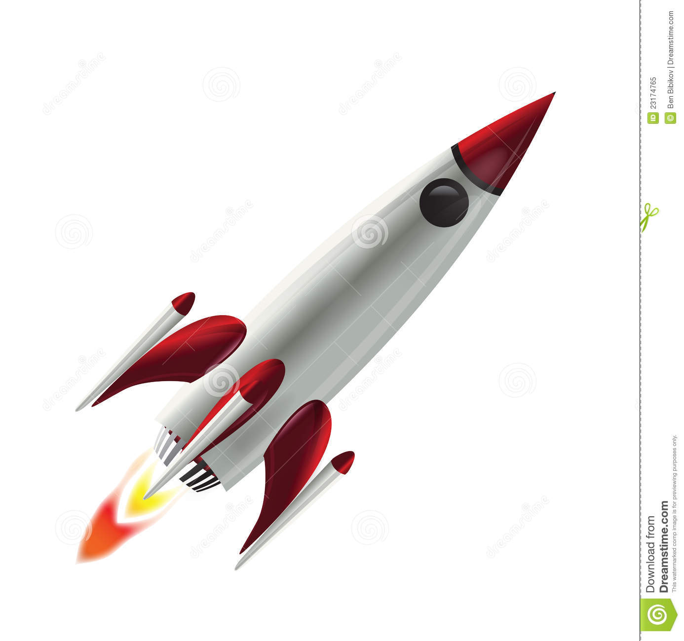 Flying space rocket royalty free stock photo image 23174765 for Flying spaces