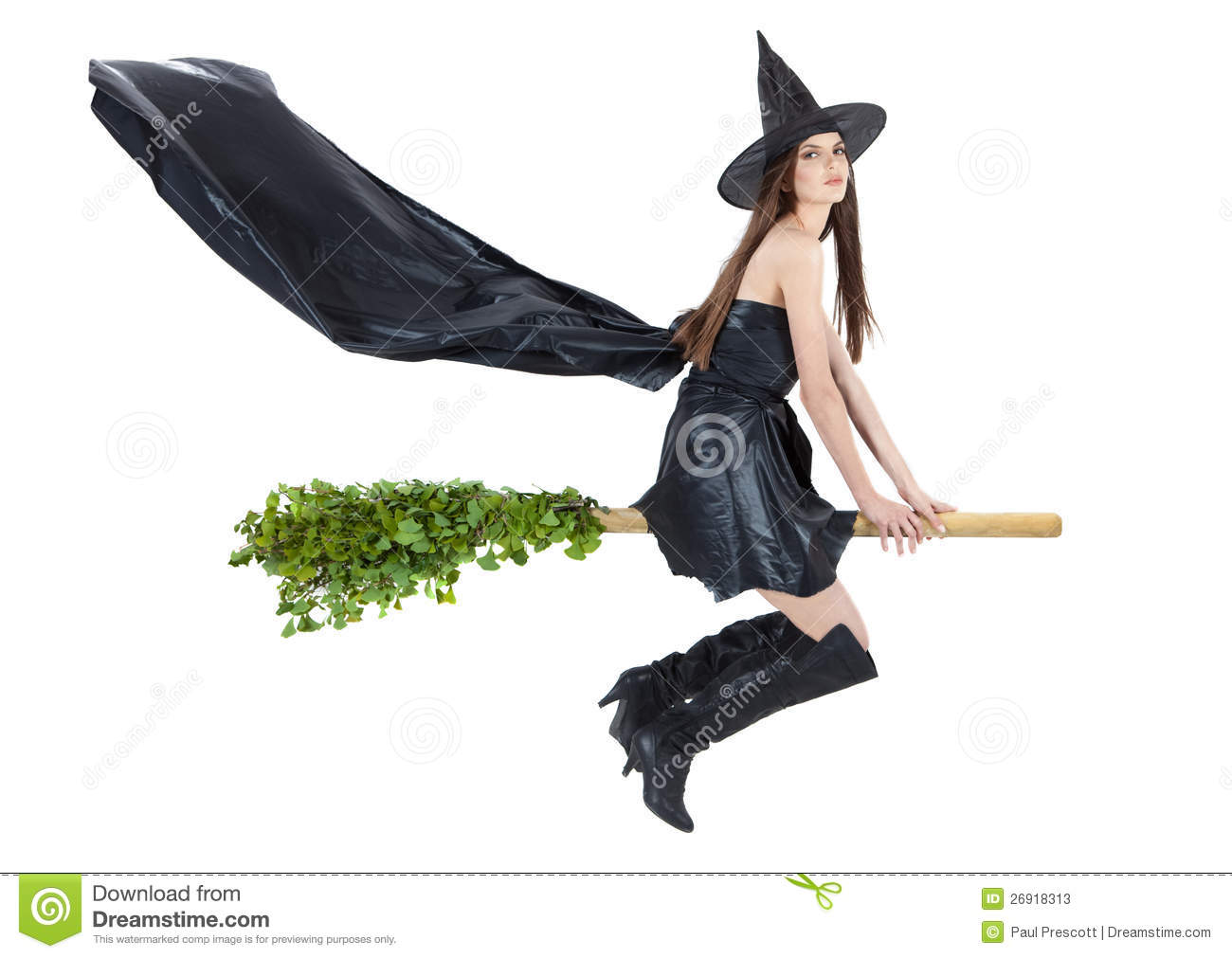 how to make a broomstick fly
