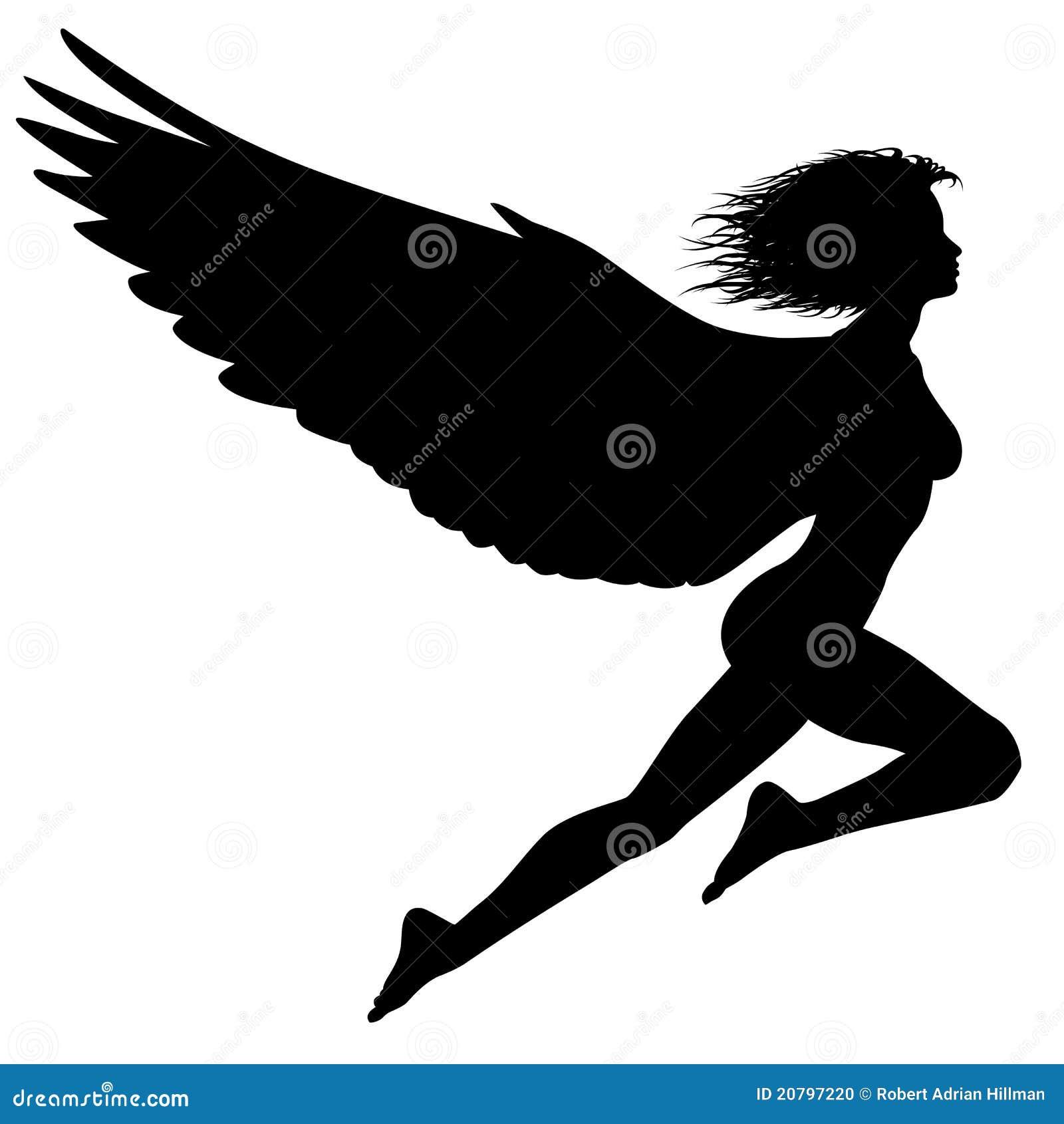 Flying Woman Stock Photo - Image: 20797220