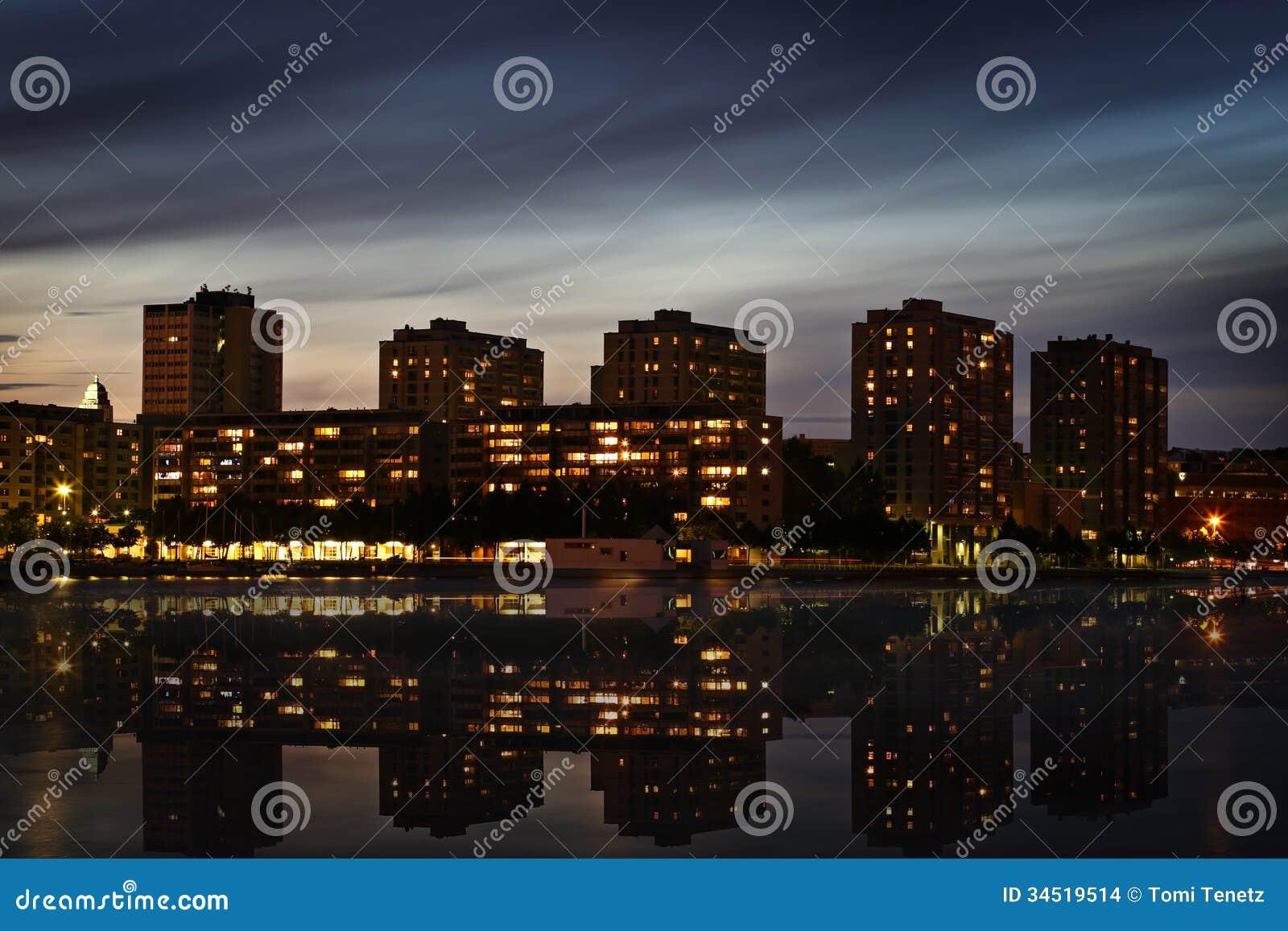 Fnland: District In Helsinki Stock Images - Image: 34519514