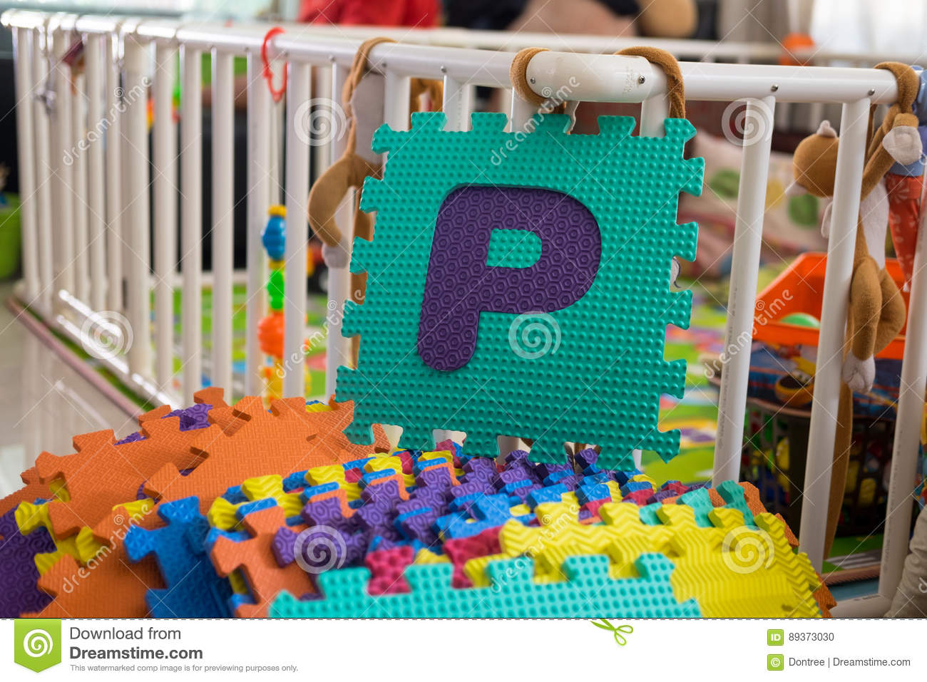 Alphabet Learning Toys : Foam alphabet puzzle pieces p stock photo image of learning