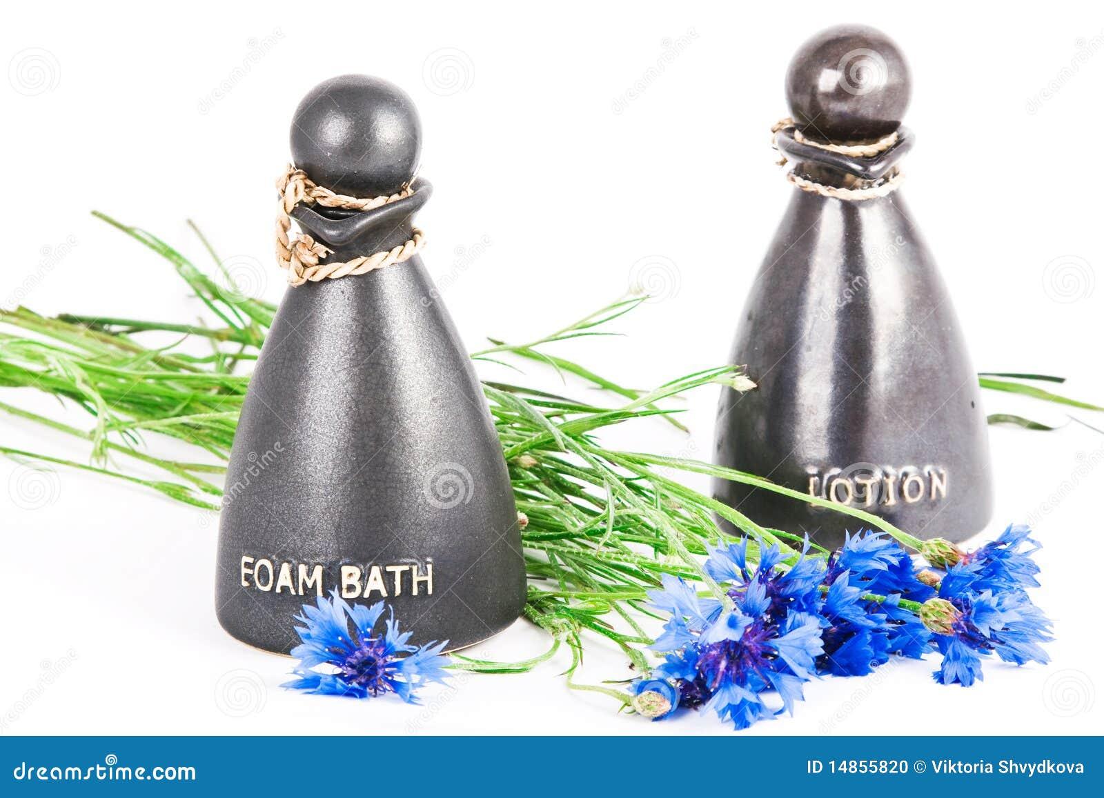 Foam bath and lotion