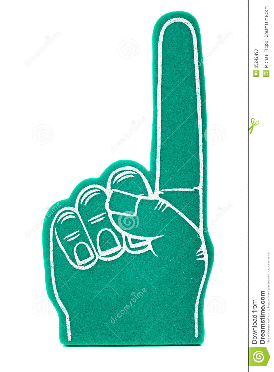 Displaying 14> Images For - Blue Foam Finger Clip Art...