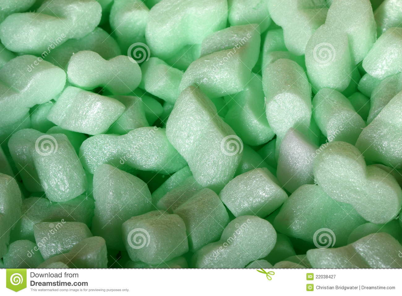 Foam Packing A Royalty Free Stock Photography Image