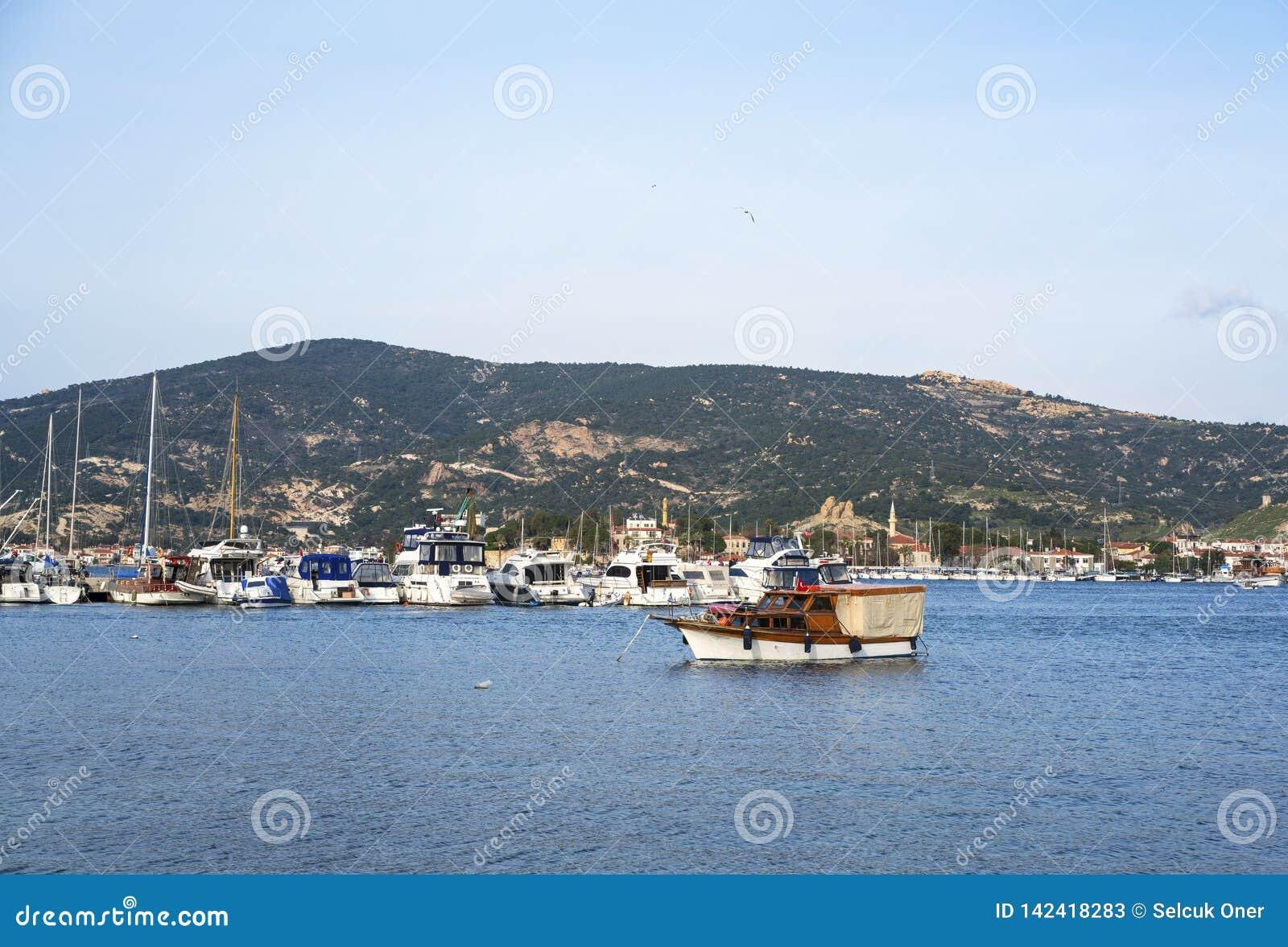 Foca,  Fokaia izmir, Turkey