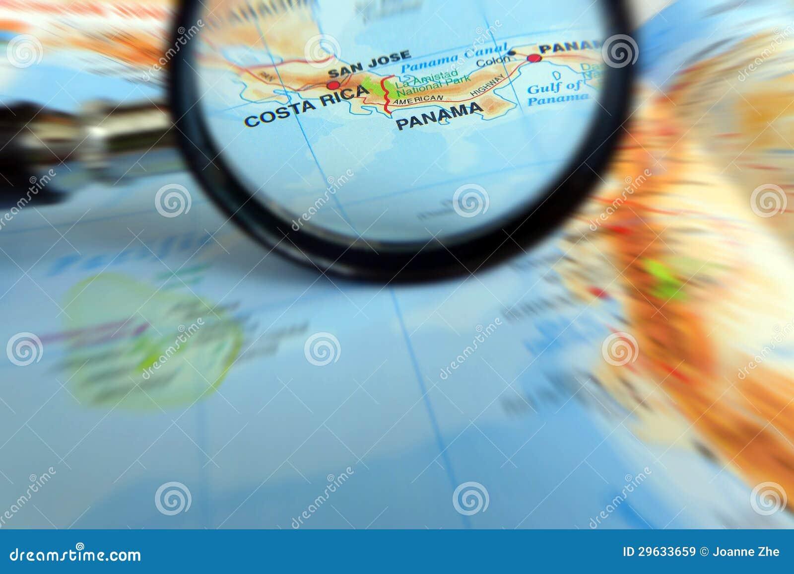 Foco en el concepto de Costa Rica y de Panamá