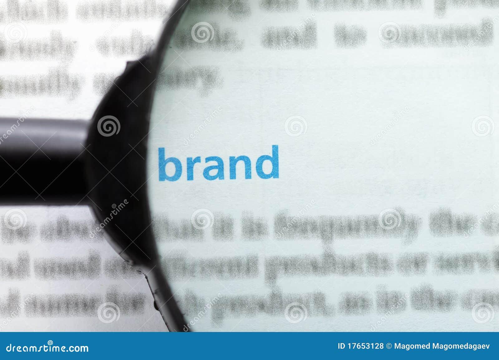 Focus On Brand Royalty Free Stock Photos - Image: 17653128
