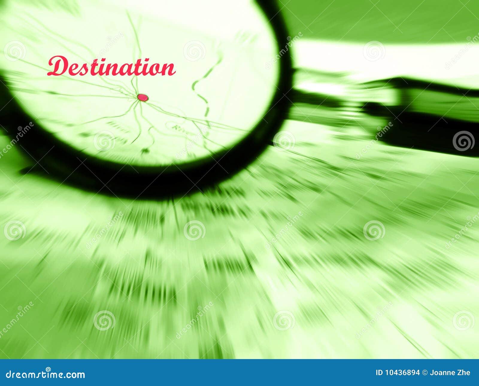Focus on destination