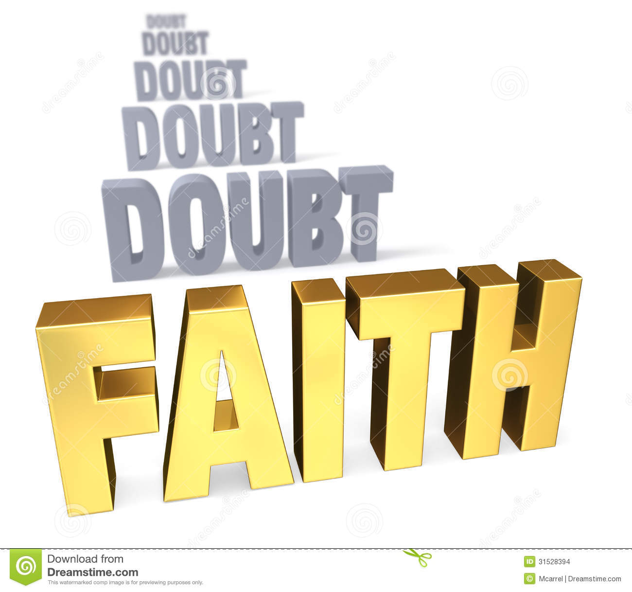 "faith and doubt I want to encourage those who doubt, and also encourage the church to be a  place that rewards rather than punishes honesty"" lots of folks have given faith a  try."