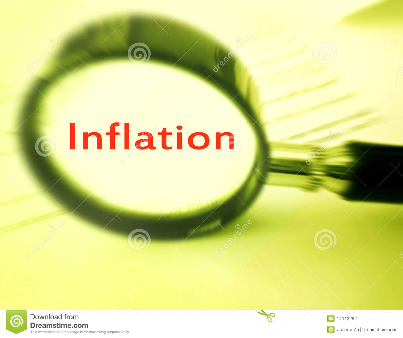 Focus On Inflation Stock Photo. Image Of High, Economies