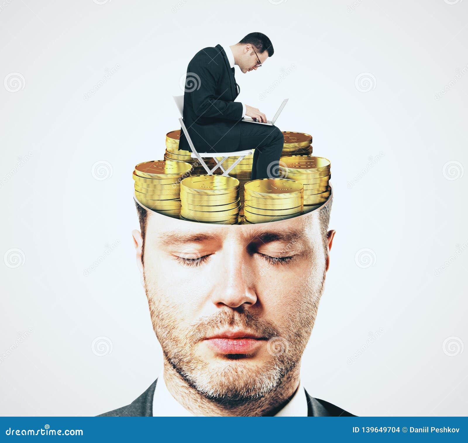 Focus and money concept