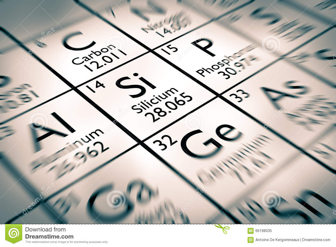 Focus on silicon chemical elements stock image image 66198035 focus on silicon chemical elements buycottarizona