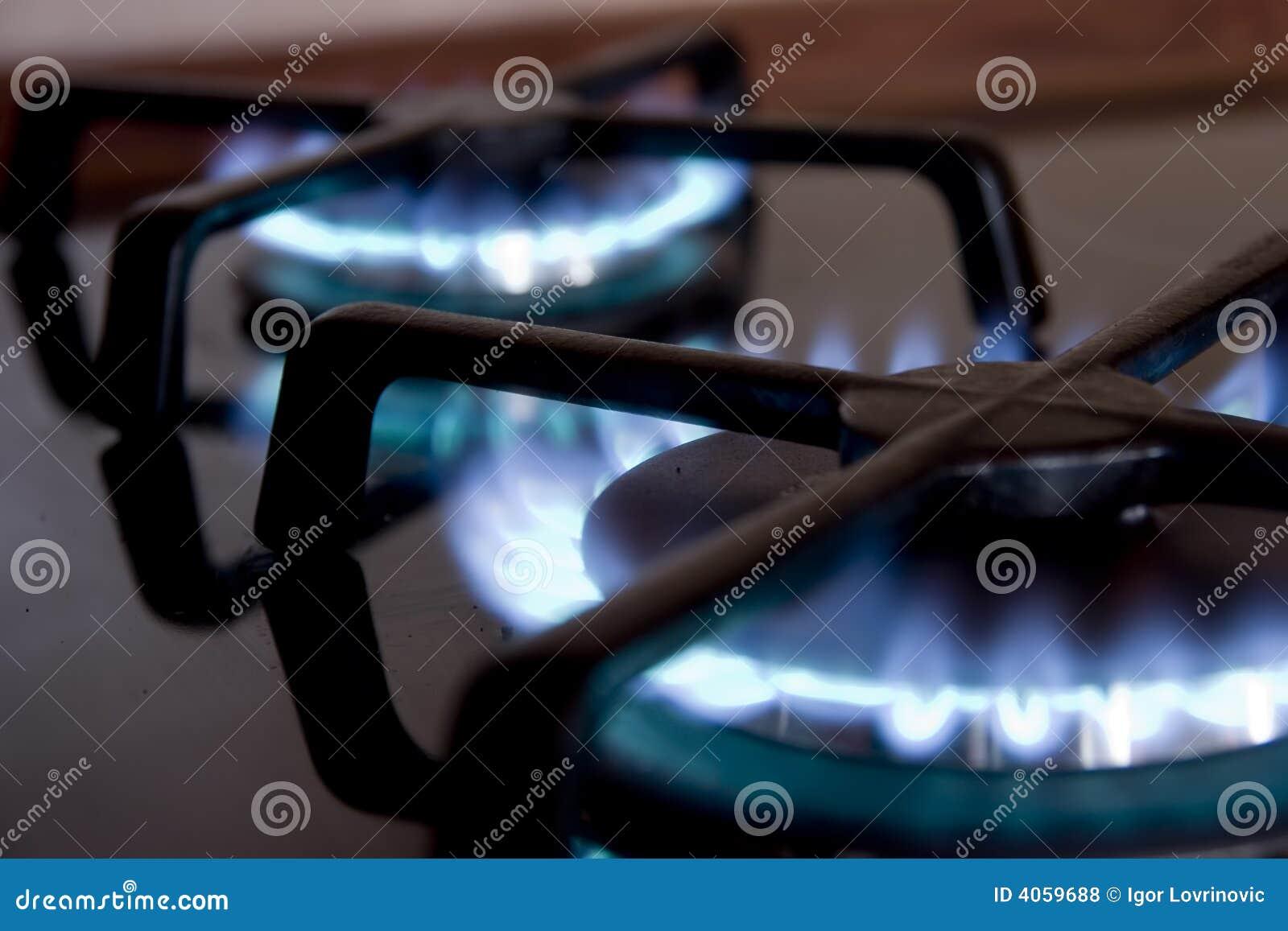 Fogão de gás