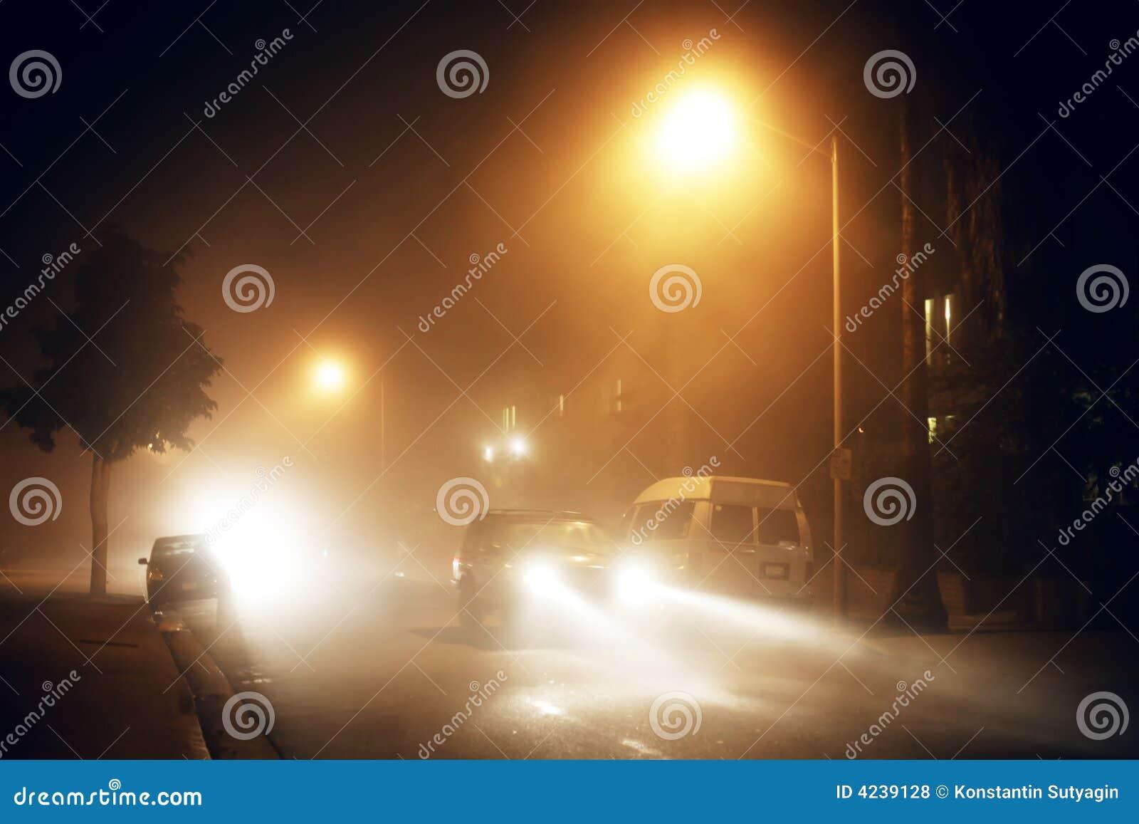 Foggy street