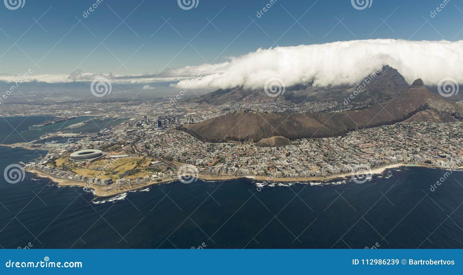 Foggy Table Mountain
