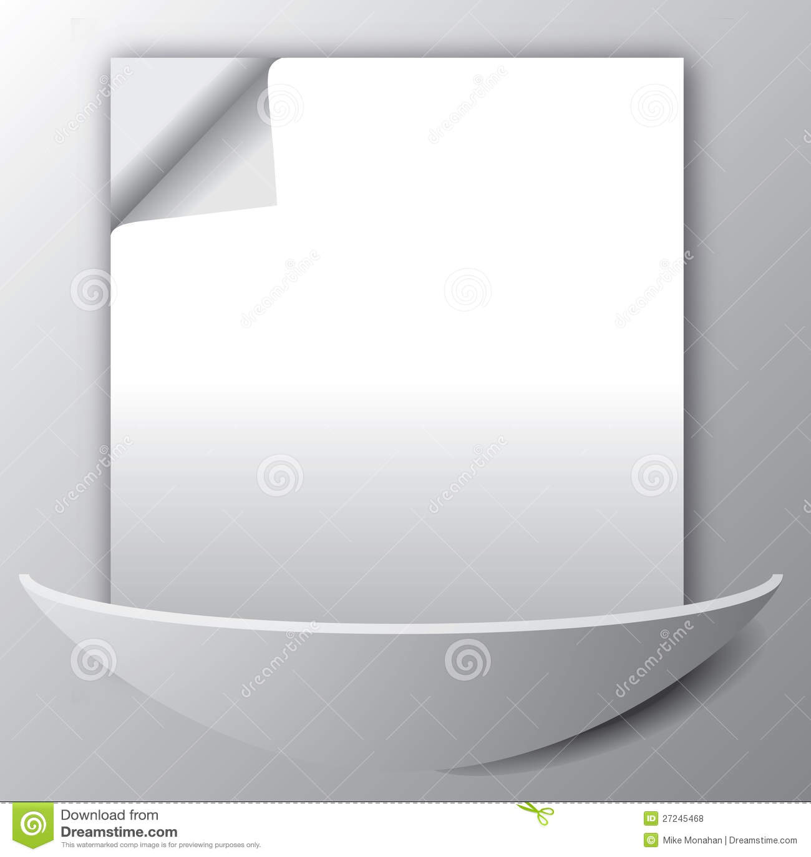 Fogli di carta sulla parete fotografie stock libere da for Carta da parete