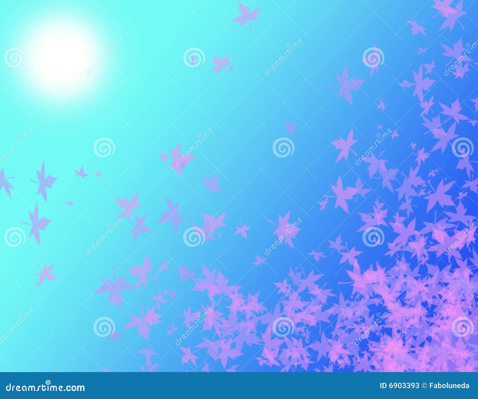 Fogli di colore rosa alla luce solare fotografie stock - Caduta fogli di colore stampabili ...