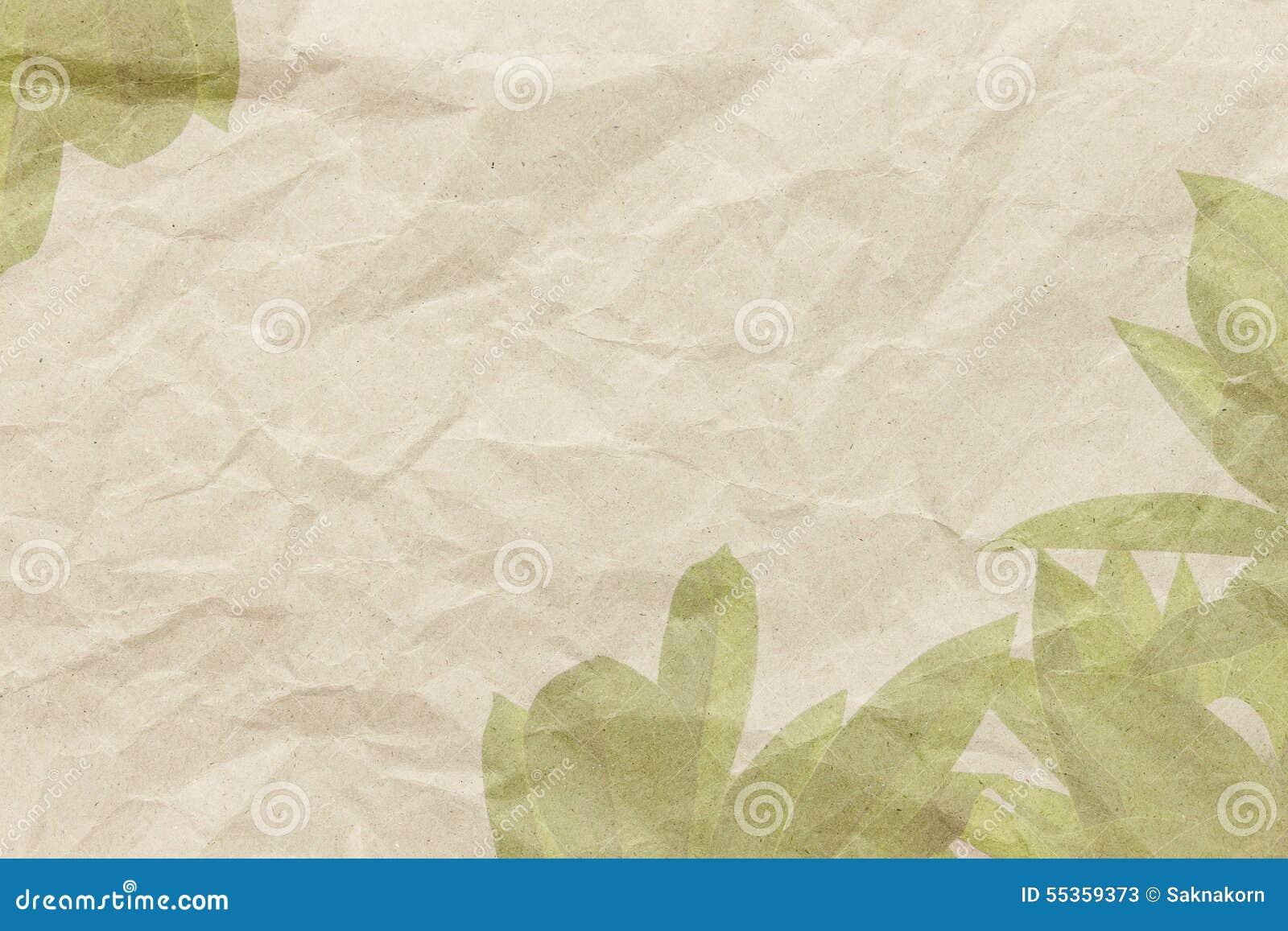 Foglia del frangipane su struttura di carta