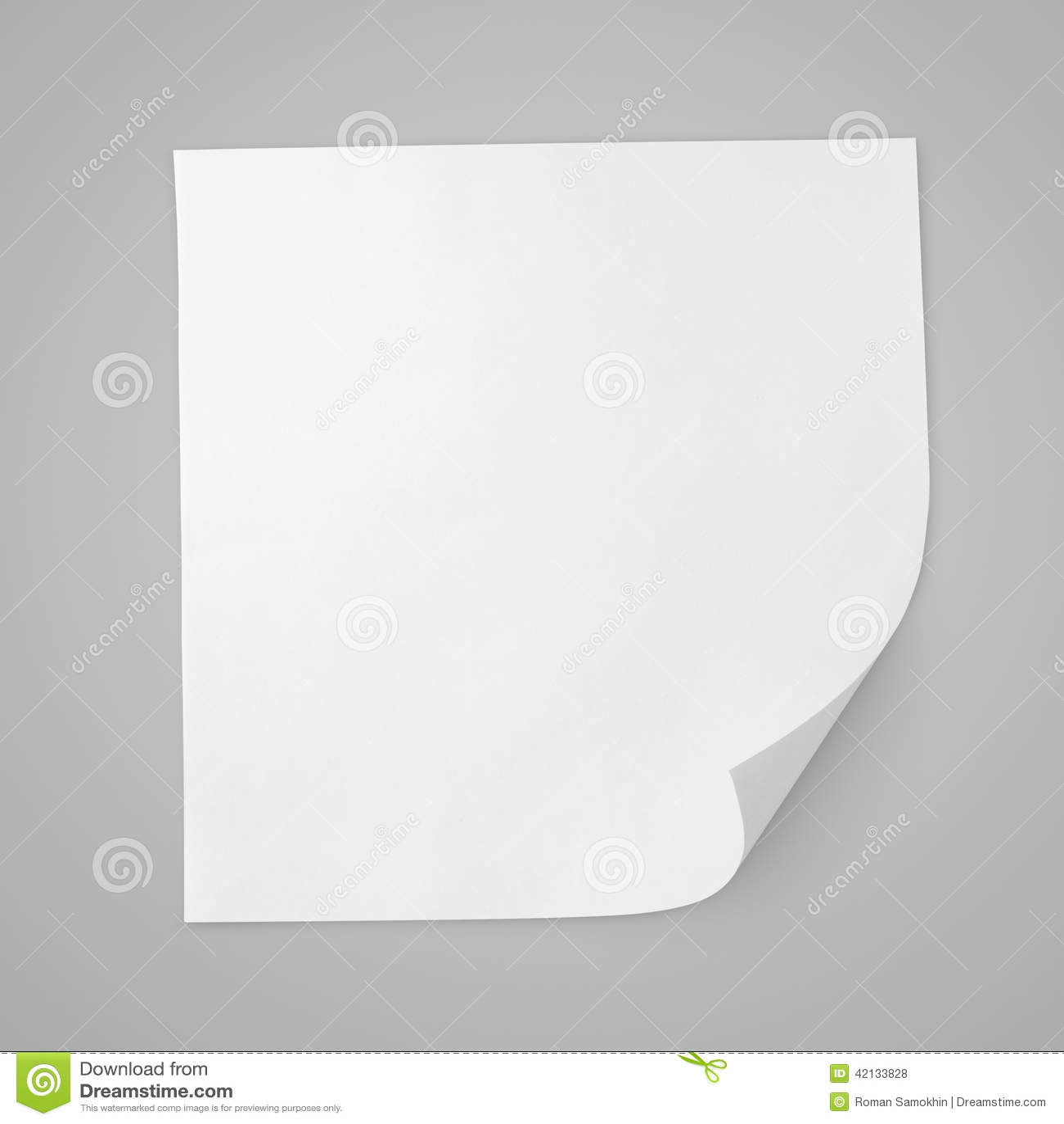 Foglio bianco quadrato di libro bianco stock images - Foglio laminato bianco ...