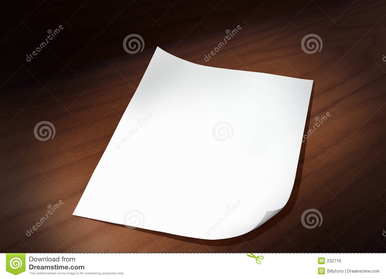 Foglio di carta immagine stock libera da diritti - Foglio laminato bianco ...