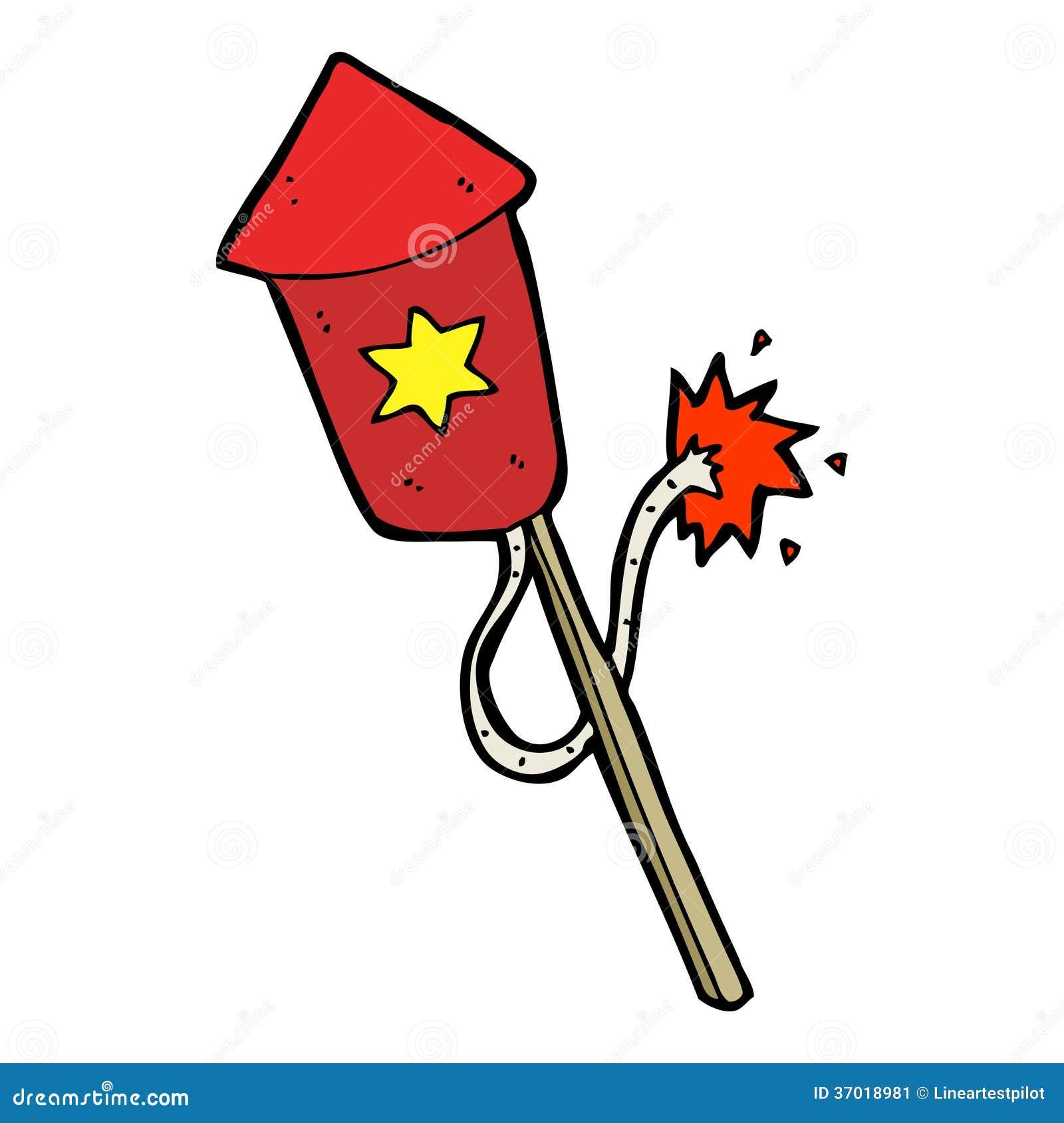 Fogo De Artificio Dos Desenhos Animados Com Fusivel De Queimadura Ilustracao Do Vetor Ilustracao De Fusivel Desenhos 37018981