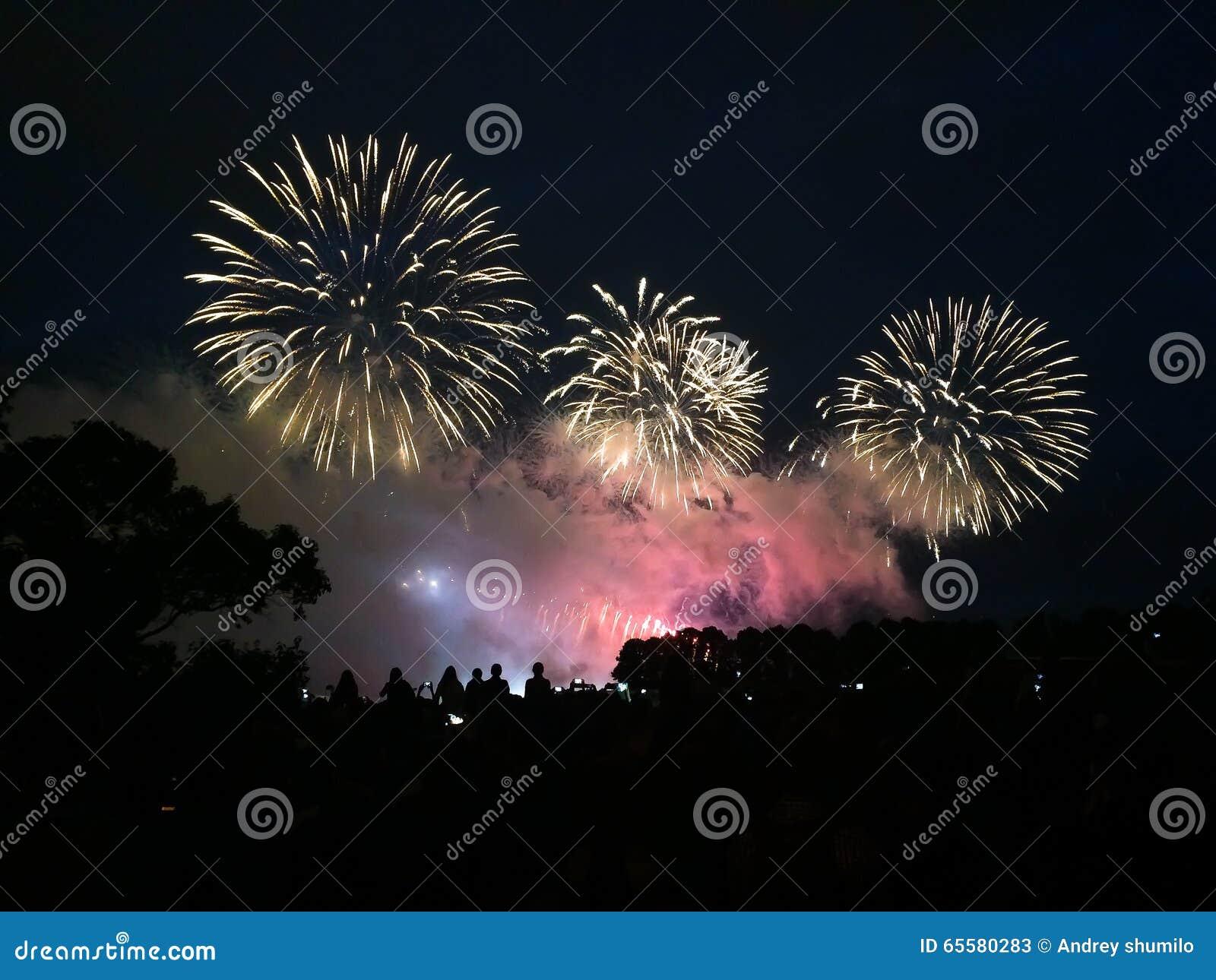 Fogos-de-artifício