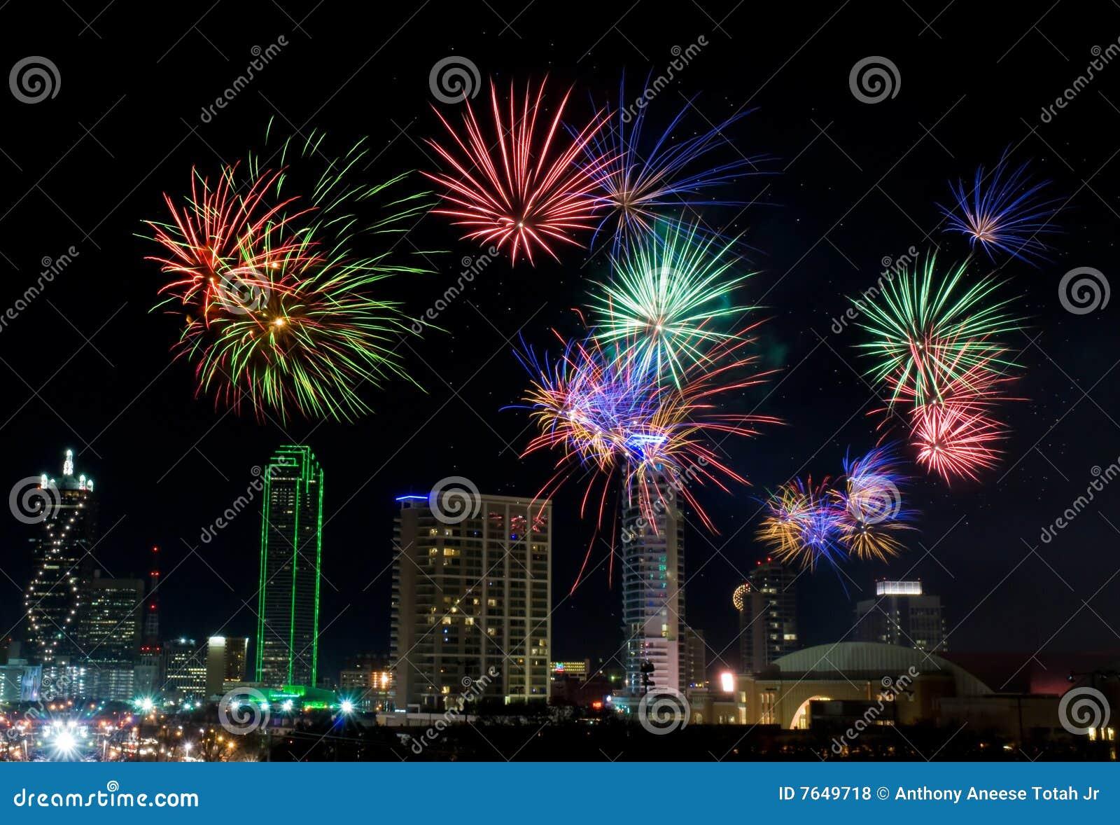 Fogos-de-artifício - Dallas Texas