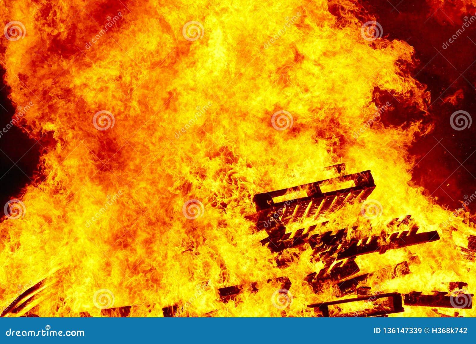Fogueira 2 bonfire Luta contra o incêndio e ignição da chama aviso
