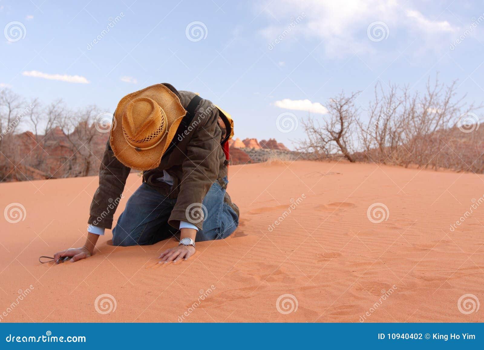 Foi perdante dans le désert