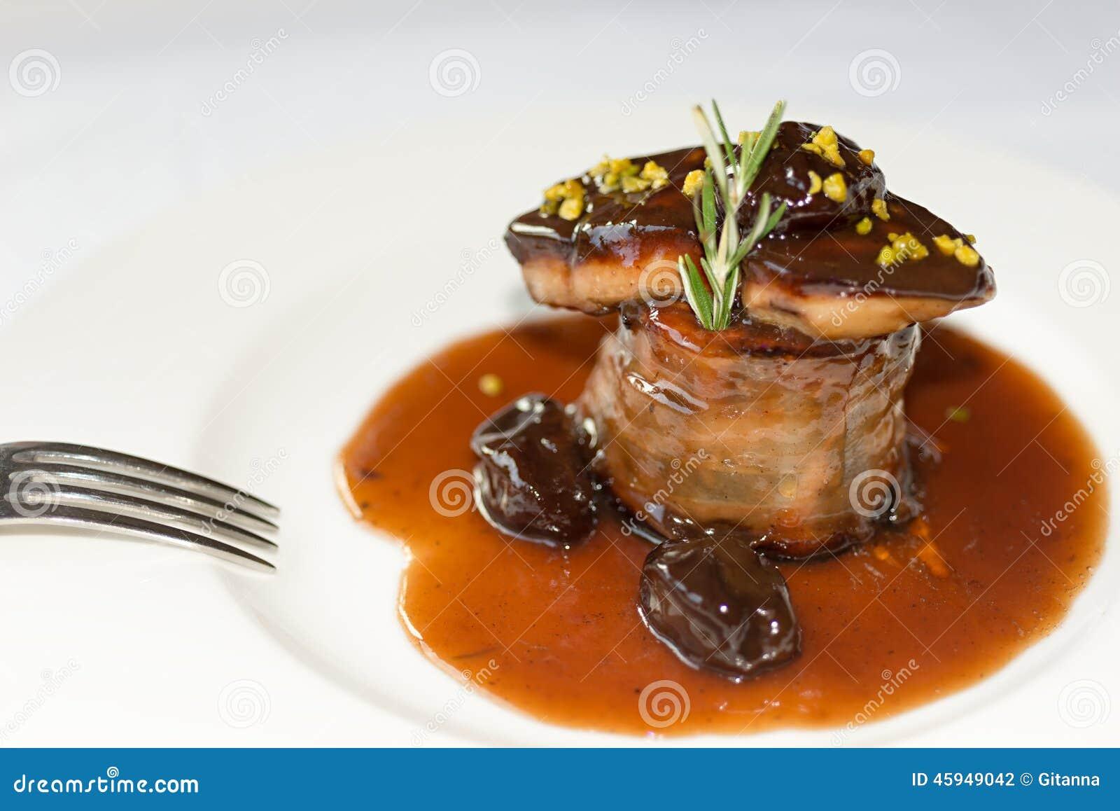Foie rund biff