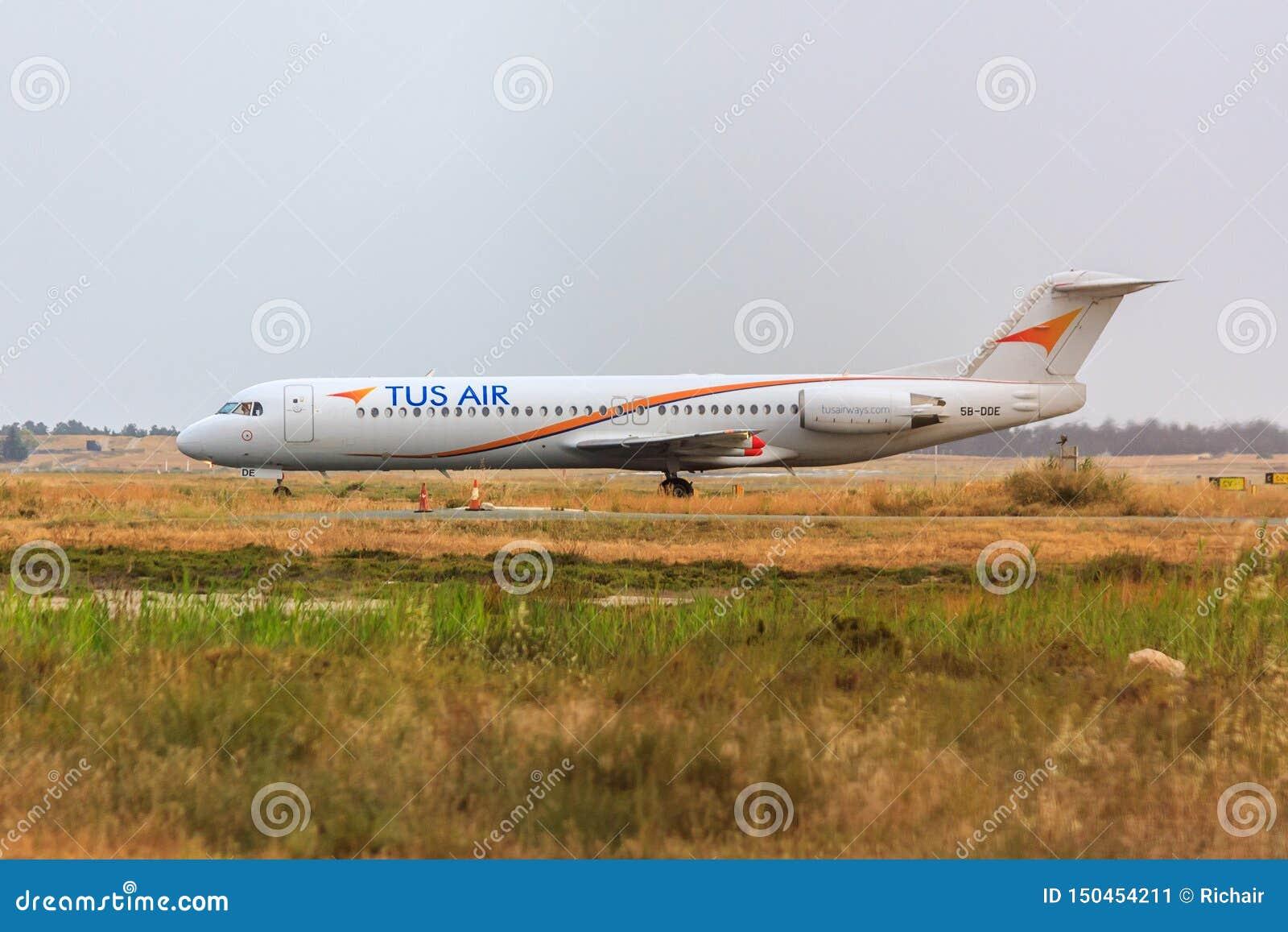 Fokker 100 del aire de Tus