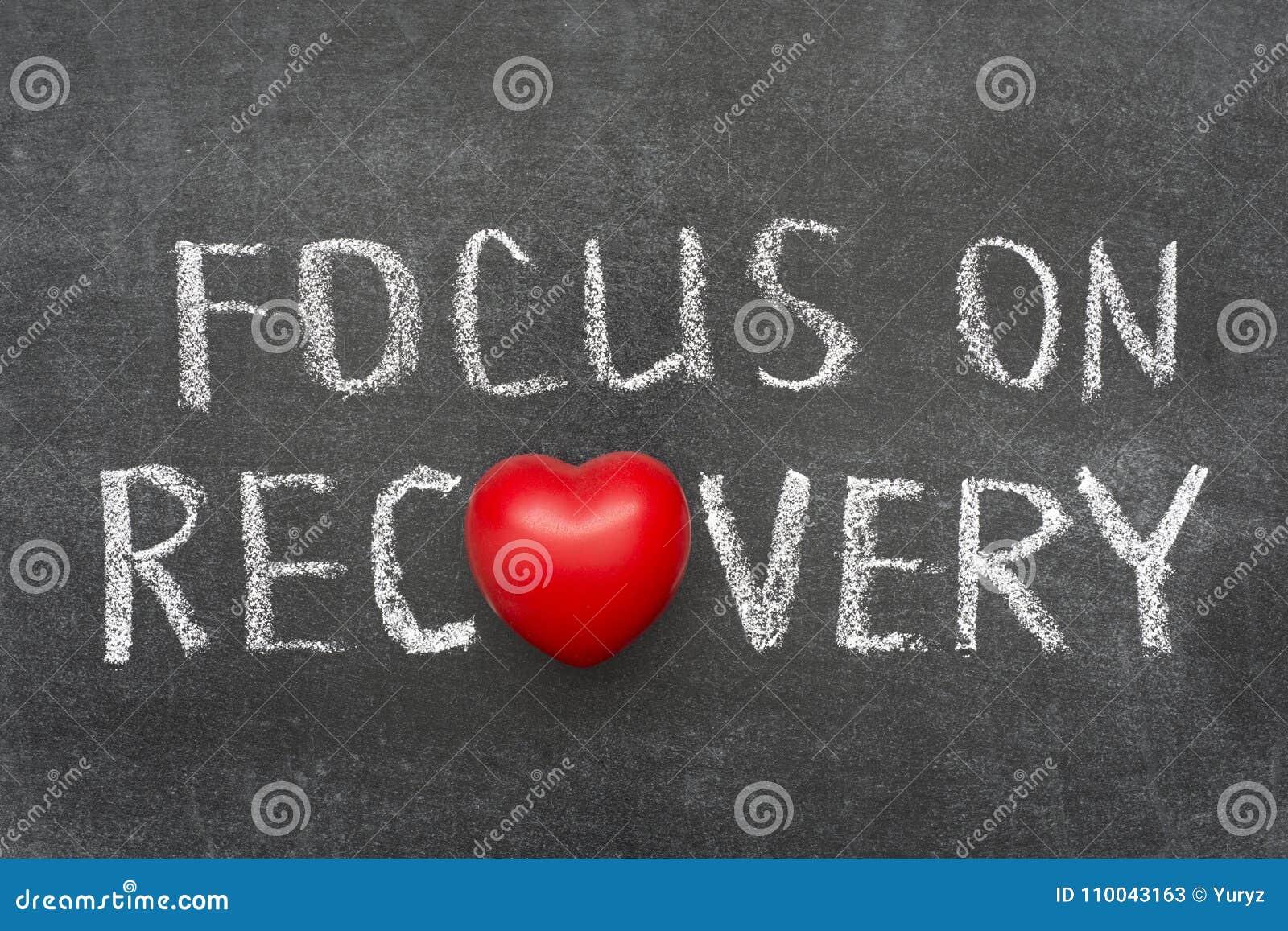 Fokus auf Wiederaufnahme