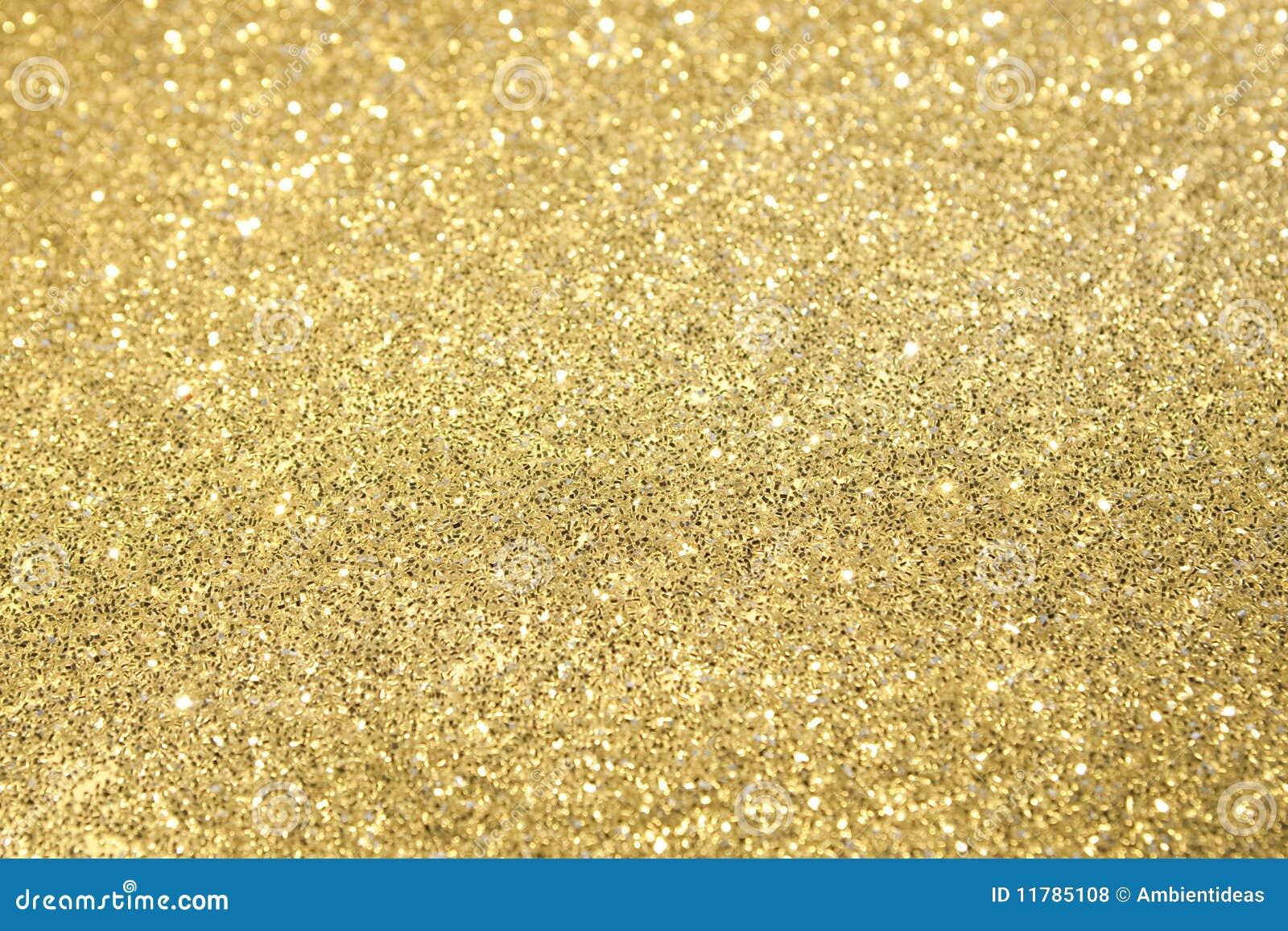 Fokusen blänker selektiv guld