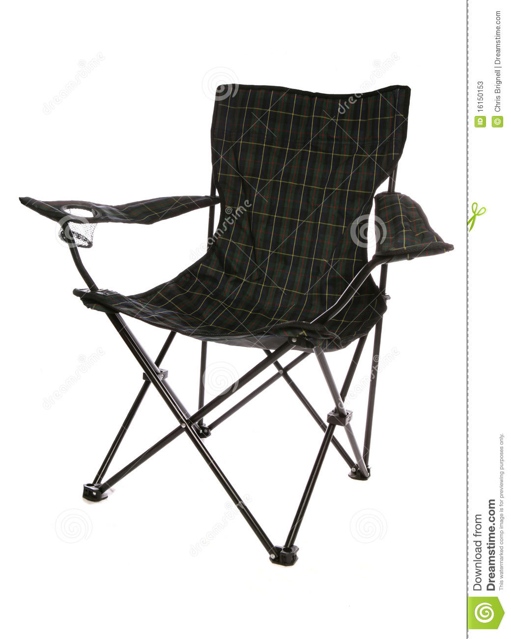 Fold Up Chair Stock s Image